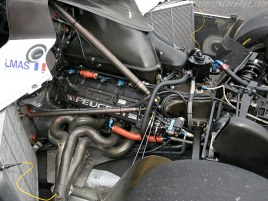 O potente V-10 Peugeot que levou o 905 Evo à vitória