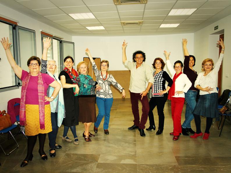 Las mayores y el flamenco