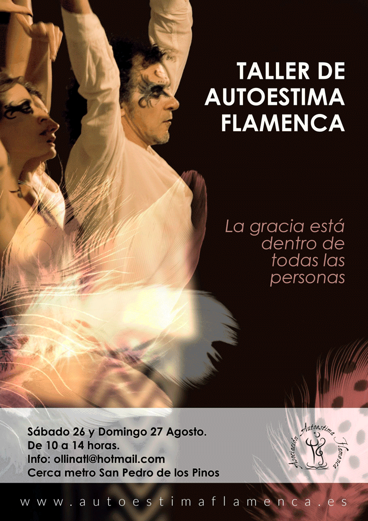 Taller de Autoestima Flamenca San Pedro de los Pinos, México. 2017