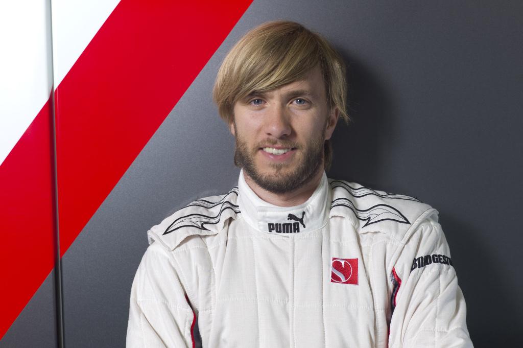 Heidfeld cuando estaba con Sauber en 2010