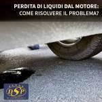Perdita di liquidi dal motore: come risolvere il problema?