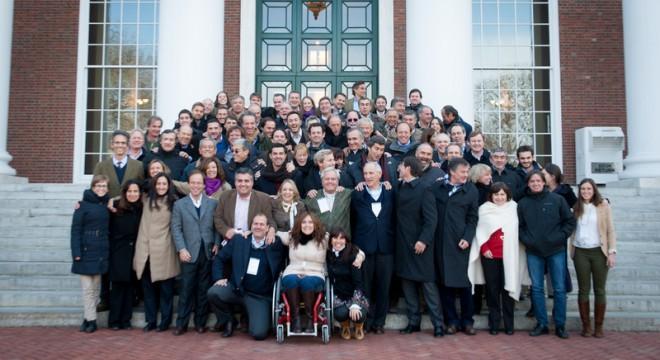 El último viaje de los políticos RAP: la Universidad de Harvard, el pasado abril