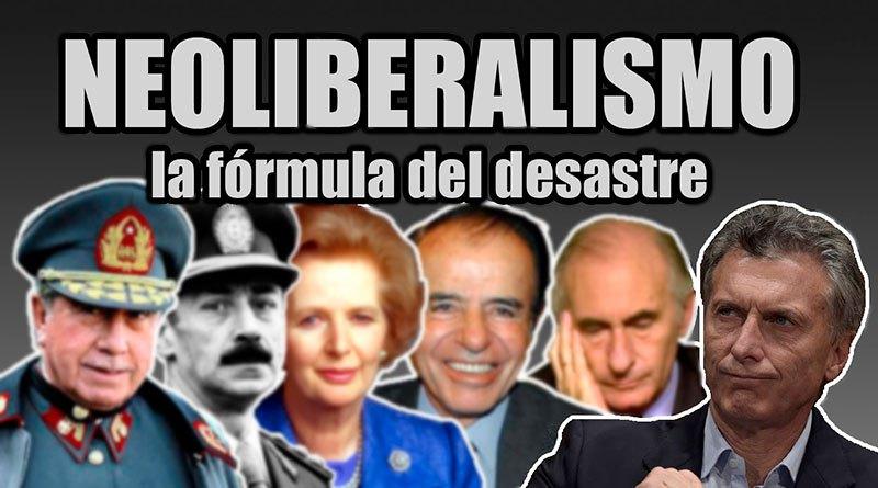 Resultado de imagen para neoliberalismo en la argentina