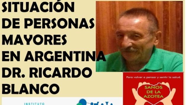 Resultado de imagen para RICARDO BLANCO GERONTOLOGO