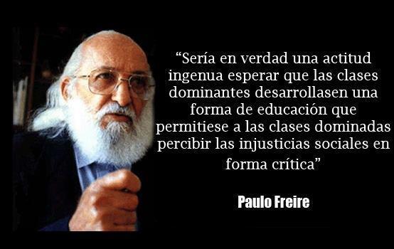 La educación en frases de Paulo Freire