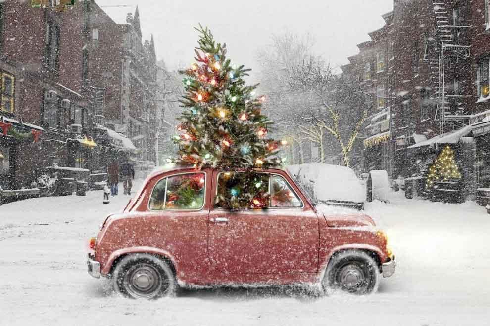 Alquilar un coche en Navidad: ¡Llega adónde quieras ir!