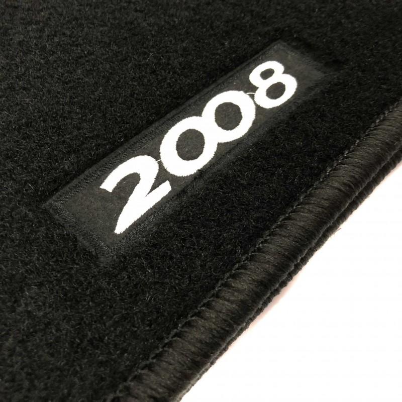 fussmatten peugeot 2008 2016 2019 wahrend logo
