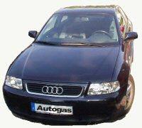 Audi A3 umgerüstet auf Autogas