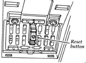 Ford Aspire (1993  2000)  fuse box diagram  Auto Genius
