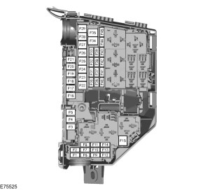 Ford SMAX mk1 (2006  2015)  fuse box diagram (EU