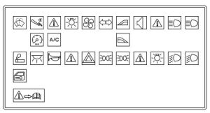 Ford Ikon (from 2009)  fuse box diagram (India version