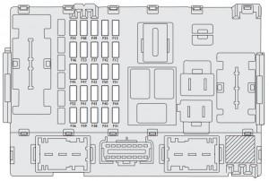 Fiat Linea (2007  2013)  fuse box diagram  Auto Genius