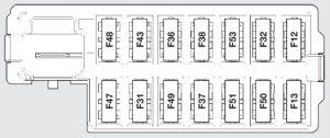 Abarth 500 (from 2008)  fuse box diagram  Auto Genius