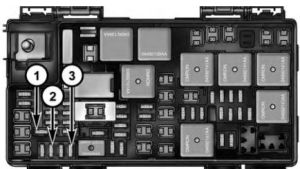 Chrysler Town and Country (2008)  fuse box diagram  Auto