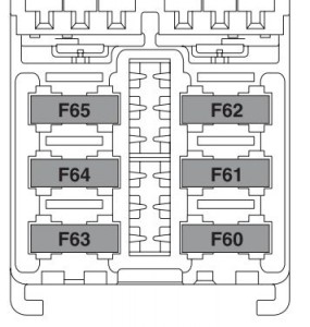Lancia Ypsilon (from 2011)  fuse box diagram  Auto Genius