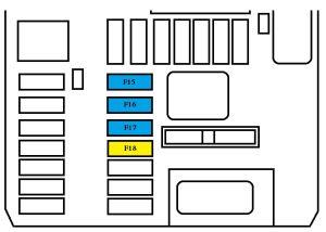 Peugeot 308 mk2 (2013  2015)  fuse box diagram  Auto Genius