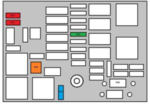 Peugeot 208 (from 2012)  fuse box diagram  Auto Genius