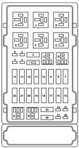 Ford ESeries E150 (2007) – fuse box diagram  Auto Genius