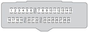 Toyota Avalon (2011  2012)  fuse box diagram  Auto Genius