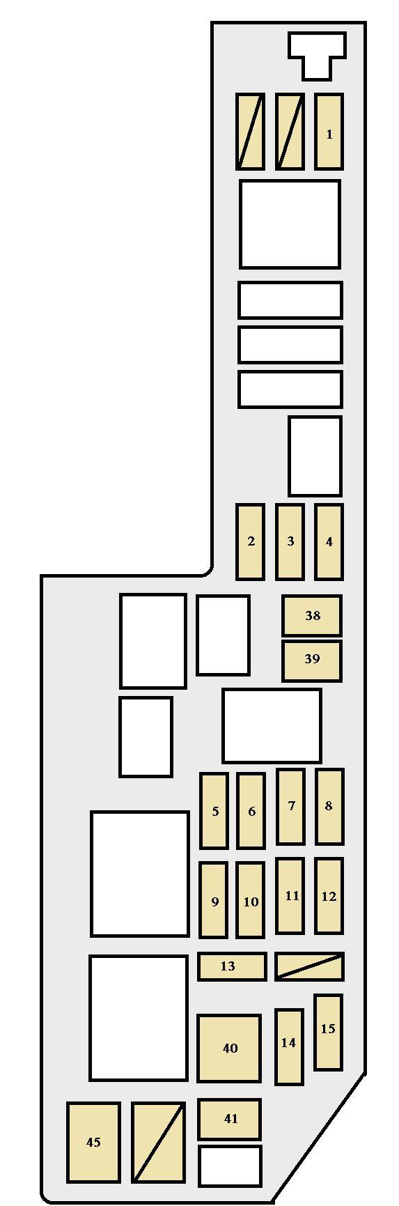 2007 Sienna Fuse Box Diagram Wiring Library Toyota Yaris 2003 98 Download Diagrams U2022 Fuel Pump Relay