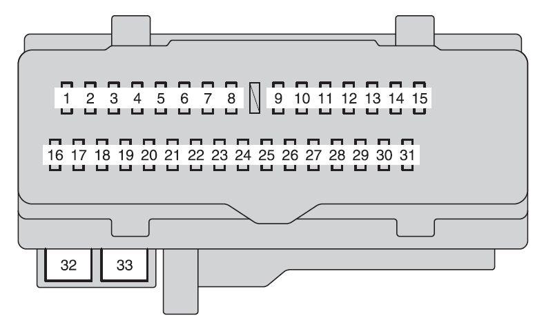 1994 Toyota Camry Fuse Box Diagram Wiring Corolla 03: 2006 Toyota Matrix Fuse Box Diagram At Anocheocurrio.co