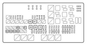 2008 Toyota Tundra Kick Panel Fuse Box Diagram  Wiring