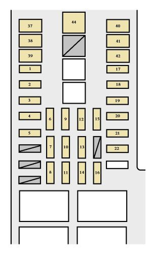 Toyota Tundra (2003  2004)  fuse box diagram  Auto Genius