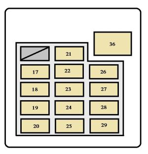 Toyota Tundra (2001  2002)  fuse box diagram  Auto Genius