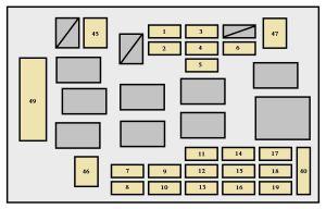 Toyota Celica (2000)  fuse box diagram  Auto Genius
