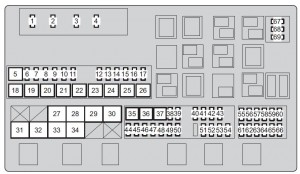 Toyota Land Cruiser (2013  2014)  fuse box diagram  Auto Genius