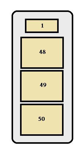 Toyota Land Cruiser (1998  1999)  fuse box diagram