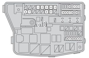 Scion xB (2012  2016)  fuse box diagram  Auto Genius
