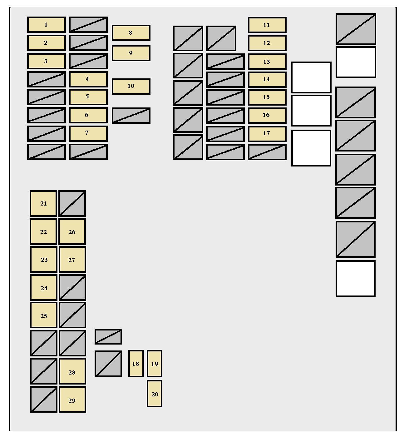 2007 ford mustang fuse box diagram