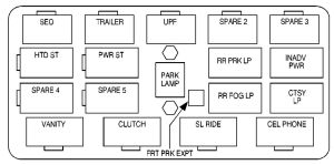 1989 GMC SIERRA FUSE BOX DIAGRAM  Auto Electrical Wiring Diagram