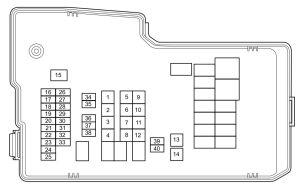 Mazda 5 (2012  2013)  fuse box diagram  Auto Genius