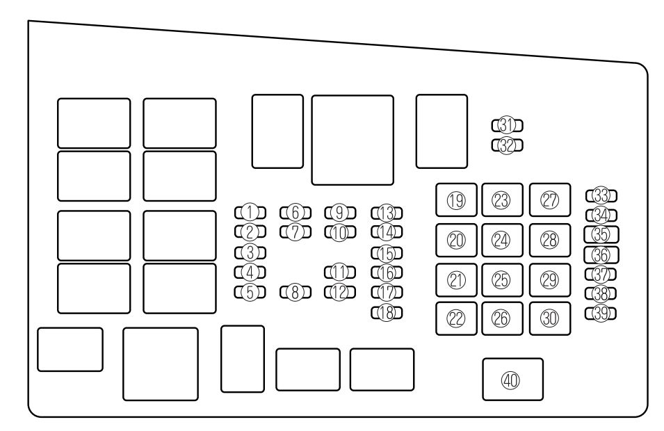 mazda bt 50 fuse box layout   27 wiring diagram images