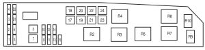 2005 Mazda Tribute Fuse Box  wiring diagrams image free
