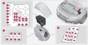 Volvo XC70 (2008)  fuse box diagram  Auto Genius
