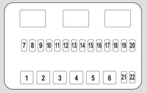 Honda Pilot (2013  2015)  fuse box diagram  Auto Genius