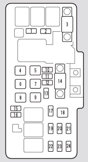 Acura TL (2002)  fuse box diagram  Auto Genius