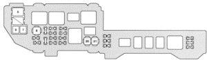Lexus ES300 (1997)  fuse box diagram  Auto Genius