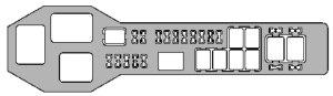 Lexus GS300 (1998  2000)  fuse box diagram  Auto Genius