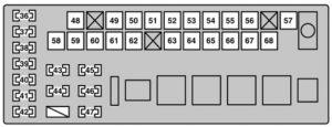 Lexus GS430 (2006)  fuse box diagram  Auto Genius