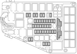 Subaru Legacy (2016)  fuse box diagram  Auto Genius