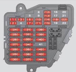 Seat Exeo ST (2013) – fuse box diagram  Auto Genius