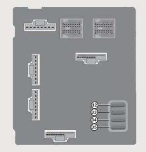Smart Fortwo (2008)  fuse box diagram  Auto Genius