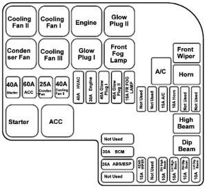 TATA Safari  fuse box diagram  Auto Genius