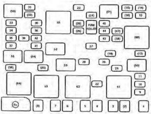 KIA Spectra (2003  2004)  fuse box diagram  Auto Genius