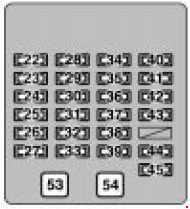 Lexus RX 300 (1999  2003)  fuse box diagram  Auto Genius