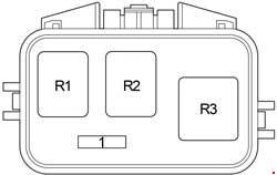 Scion xB (2004  2007)  fuse box diagram  Auto Genius